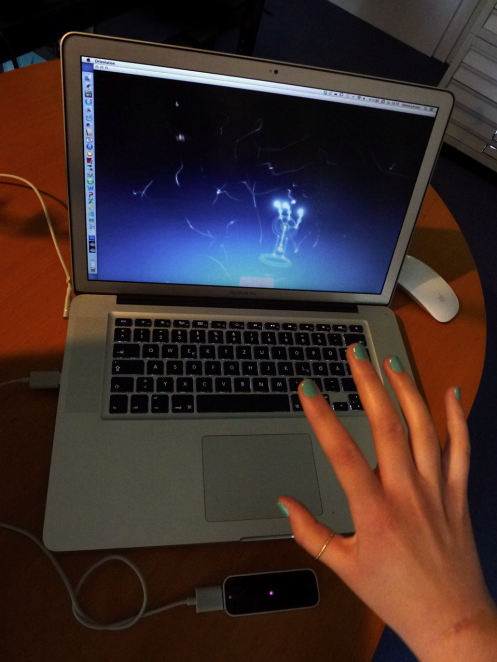 Leap Motion Visualizer